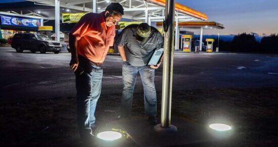 Gas Station - LED Lighting Conversion