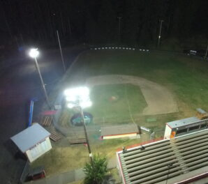 Clatskanie Sports Field - After LED Conversion