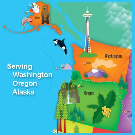 Serving Washington, Oregon, and Alaska