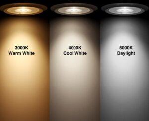 LED Color Temperature Comparison